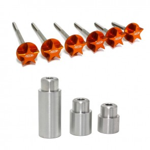 Twin Air Cage Enlargement Set (Bolt & Spacer) for Large Powe