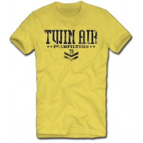 Twin Air Twin Air Military T Yellow Large