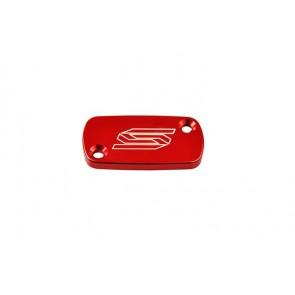 Scar Front Brake Reservoir Cover - CR CRF CRFX CRFRX KXF - Red