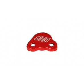 Scar Rear Brake Reservoir Cover - CR CRF CRFX CRFRX - Red