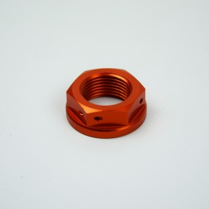 Scar Steering Stem Nut - KTM SX50/65/85 06-18 - Orange