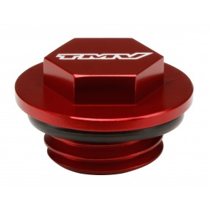 TMV Oil Plug Honda CR125/250 90-07/CRF250/450/XR all Red