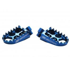 Scar EvoFootpegs-KTM 125/150SX/250SXF/350SXF/450SXF TC/FC 16-.. - Blue
