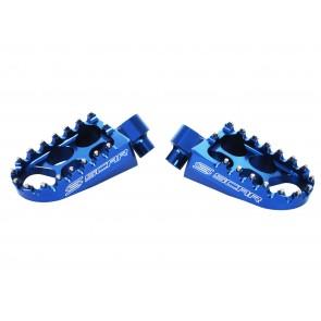Scar Standard Footpegs - YZ/YZF/WRF 99-.. Blue
