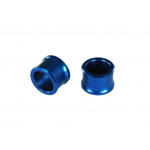 Scar Front Wheel spacer - YZ125/250 08-20 YZ250X 16-20 YZF450 08-13 YZF250 07-13 - Blue