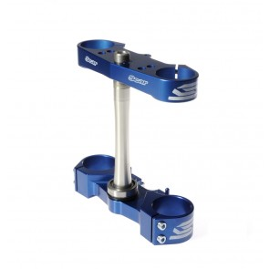 Scar Triple Clamps - YZ125 15-19 Offset:std (25mm) Blue